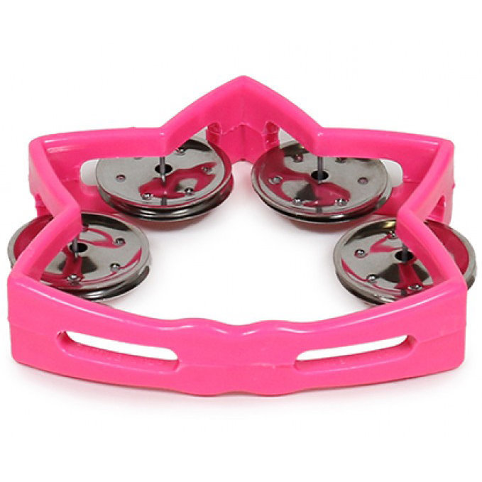 View larger image of Rhythm Band RB184P Littlestar Tambourine - Pink