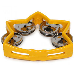 Rhythm Band RB184Y Littlestar Tambourine - Yellow