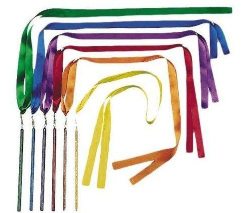 View larger image of Rhythm Band RB3001 36 Bright Colour Ribbon Wands