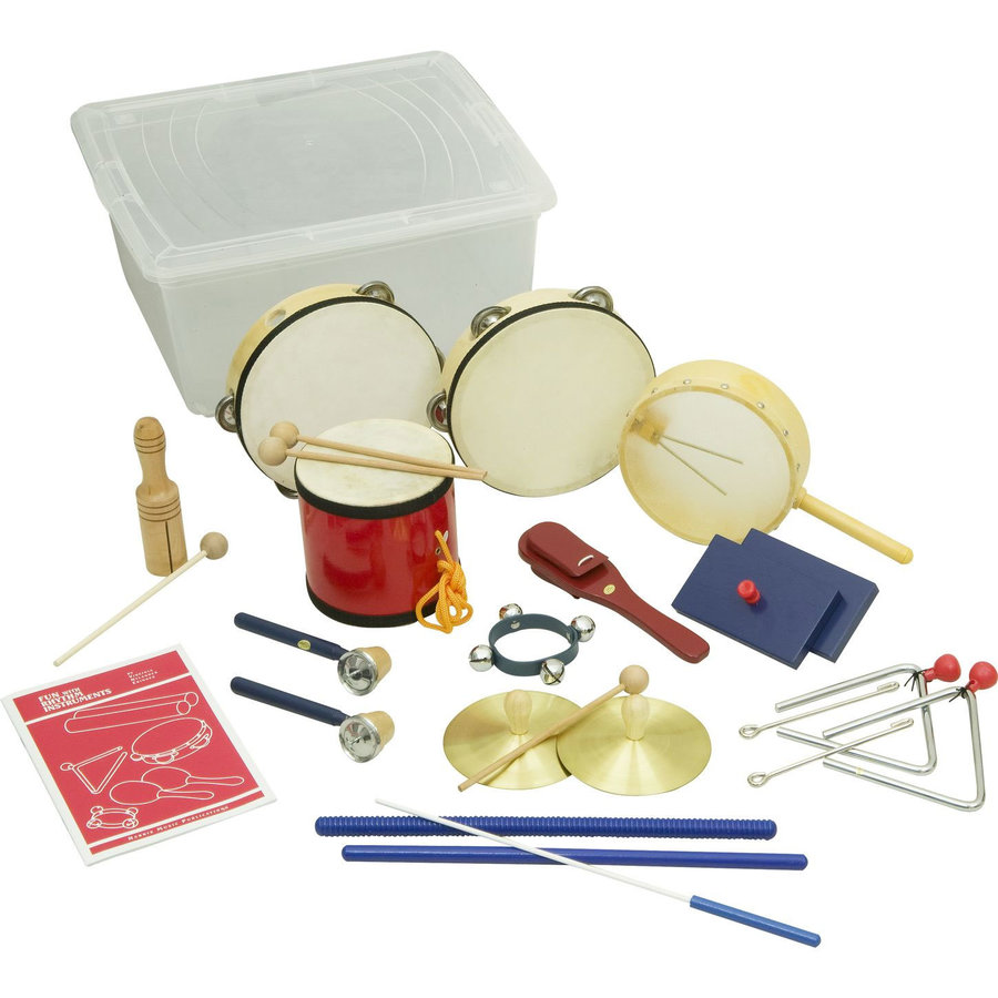 View larger image of Rhythm Band RB45 15 Piece Deluxe Percussion Kit