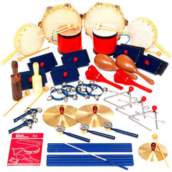 Rhythm Band RB47 35 Peice Deluxe Percussion Kit