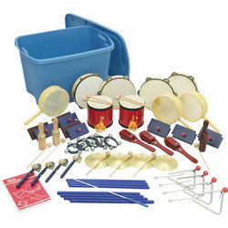 Rhythm Band RB48 40 Piece Deluxer Percussion Kit