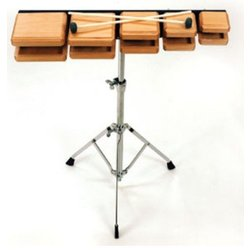 Rhythm Band RB603 Deluxe Wood Temple Blocks