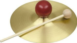 View larger image of Rhythm Band RB733S 5 Solid Brass Cymbal with Knob and Mallet