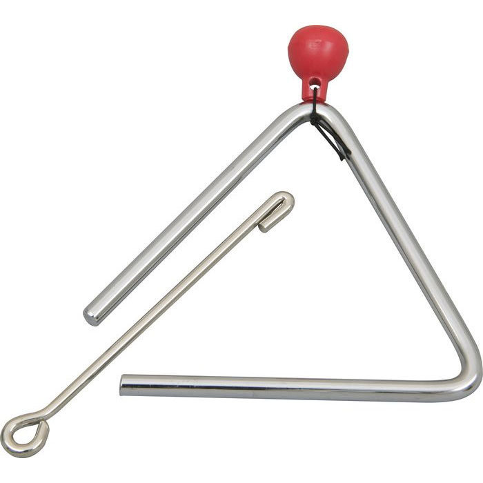 View larger image of Rhythm Band RB750 6 Triangle with Striker and Holder