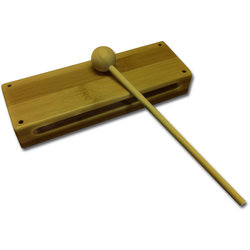 Rhythm Band RBN125 Wood Block with Mallet