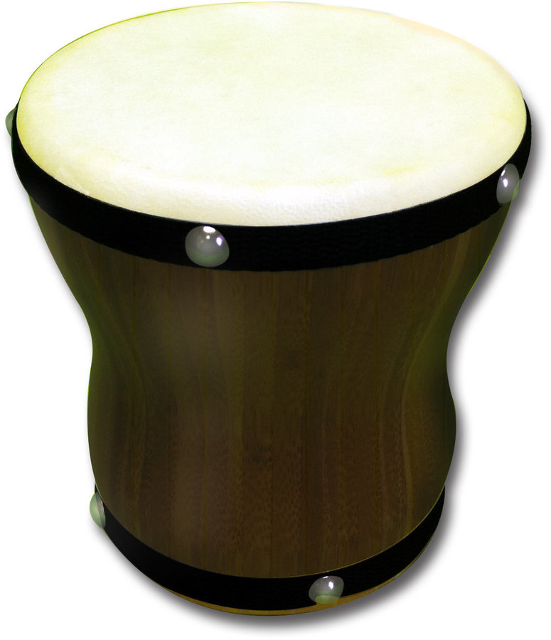 View larger image of Rhythm Band RBN80 Medium Hand Bongo with Handle Strap