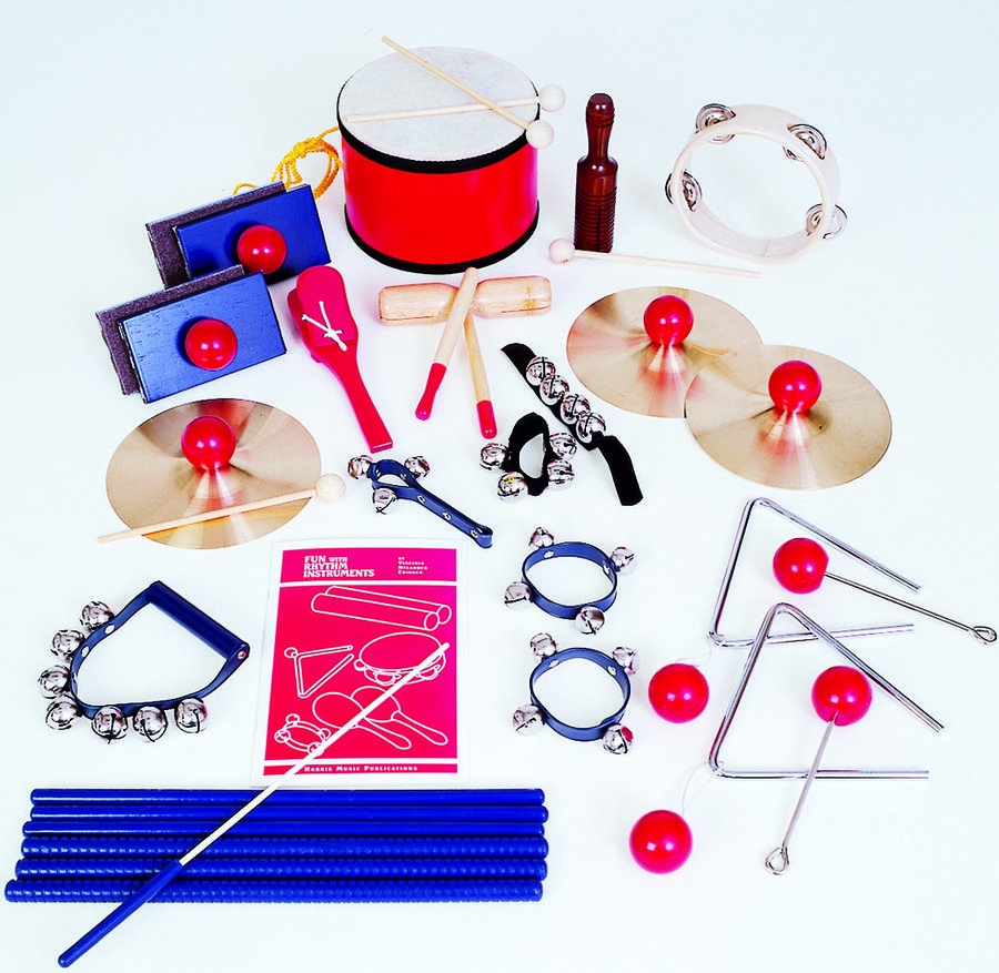 View larger image of Rhythm Band Special Education Instrument Set - 20 Players
