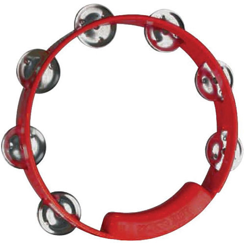 View larger image of Rhythm Tech True Colors Tambourine - 8, Red