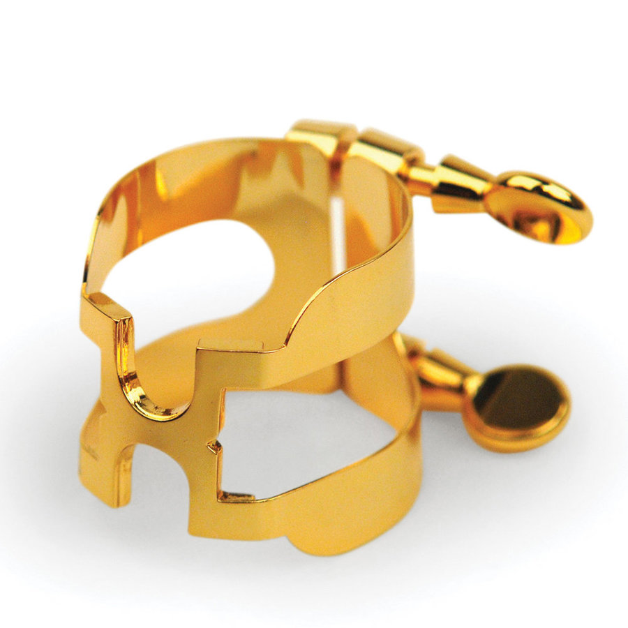 View larger image of Rico H-Ligature and Cap for Alto Sax - Gold