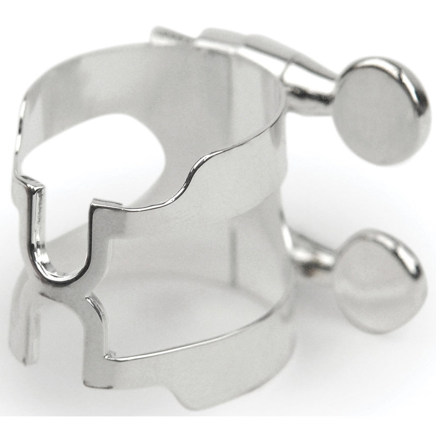 View larger image of Rico H-Ligature and Cap for Eb Clarinet - Silver