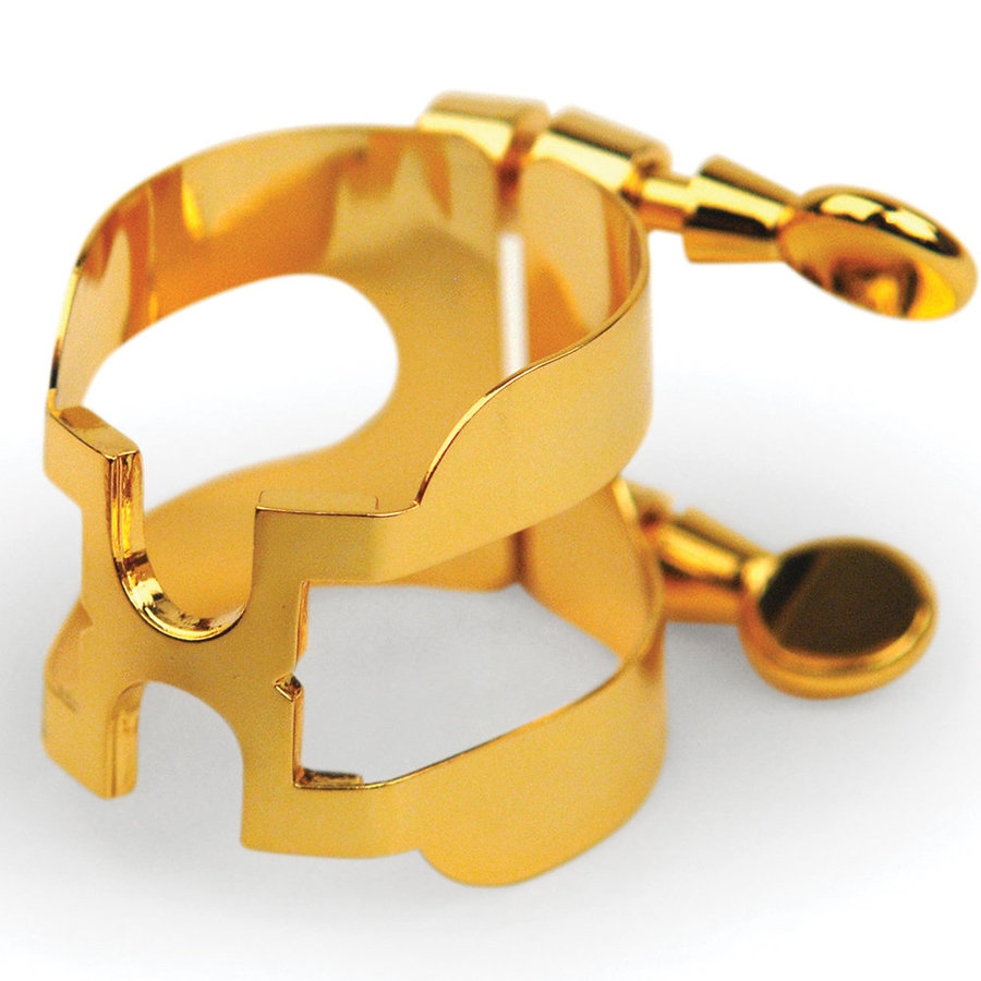 View larger image of Rico H-Ligature and Cap for Soprano Sax - Gold