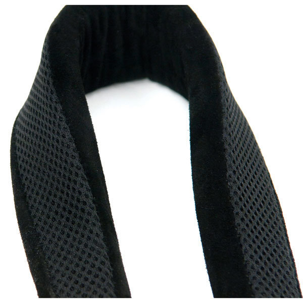 View larger image of Rico Padded Strap with Plastic Snap Hook for Soprano or Alto Sax in Black