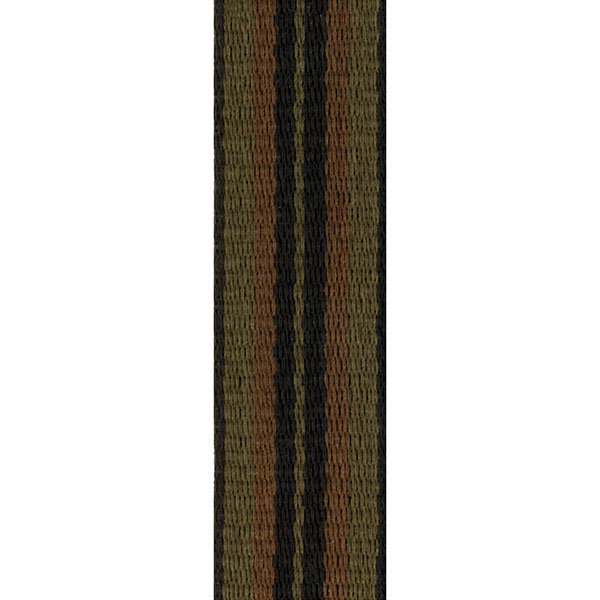View larger image of Rico SJA03 Fabric Saxophone Strap with Metal Hook - Jazz Stripe 2 - For Soprano/Alto