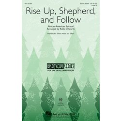 Rise Up, Shepherd, and Follow, 3PT Mixed Parts