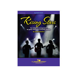 Rising Stars Guitar Book with Piano Accompaniment