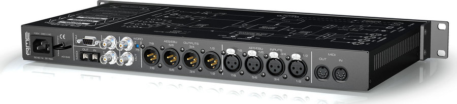 View larger image of RME ADI-642 MADI AES/EBU Format Converter with 72x74 Routing Matrix