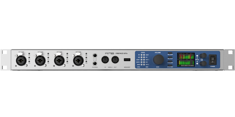 View larger image of RME Fireface UFX+ USB/Thunderbolt Audio Interface
