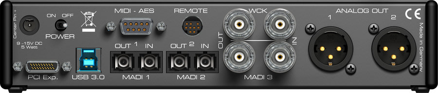 View larger image of RME MADIface XT USB 3.0 Audio Interface