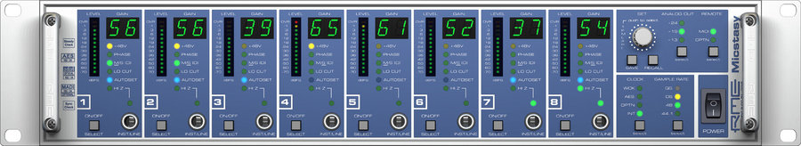 View larger image of RME Micstasy Microphone Preamp