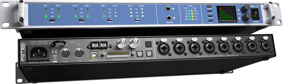 View larger image of RME OctaMix XTC Microphone Preamp