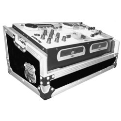 Road Ready Case for Numark CDMIX1, CDMIX2, CDMIX3, KMX01 & KMX02 CD Players