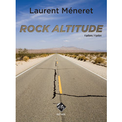 Rock Altitude (Meneret) - Guitar Quartet