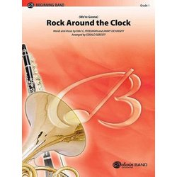 Rock Around the Clock (We're Gonna) - Score & Parts, Grade 1