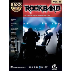 Rock Band - Bass Play-Along Volume 22 w/CD