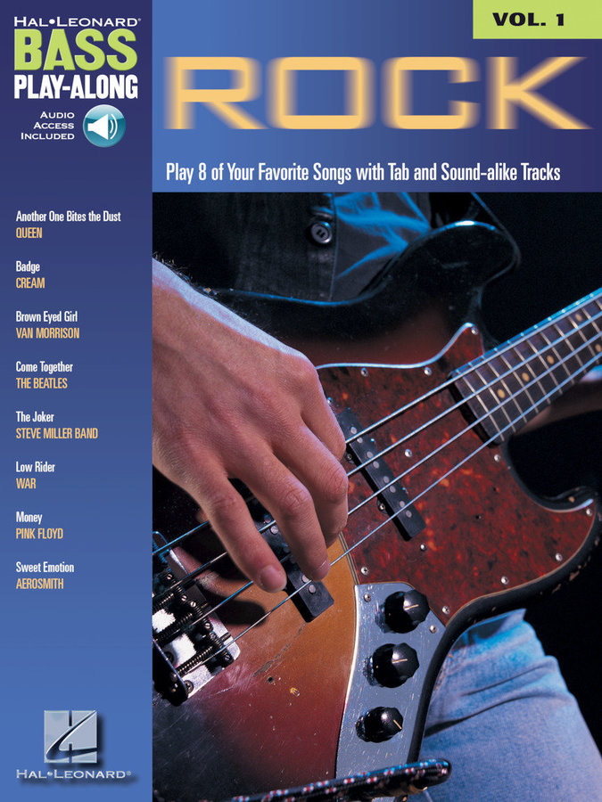 View larger image of Rock - Bass Play-Along Volume 1 w/Online Audio