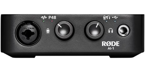 View larger image of Rode Ai-1 Single Channel USB Audio Interface