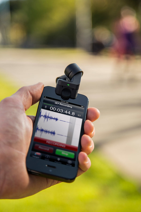 View larger image of Rode i-XY Stereo Microphone for Apple iPhone and iPad