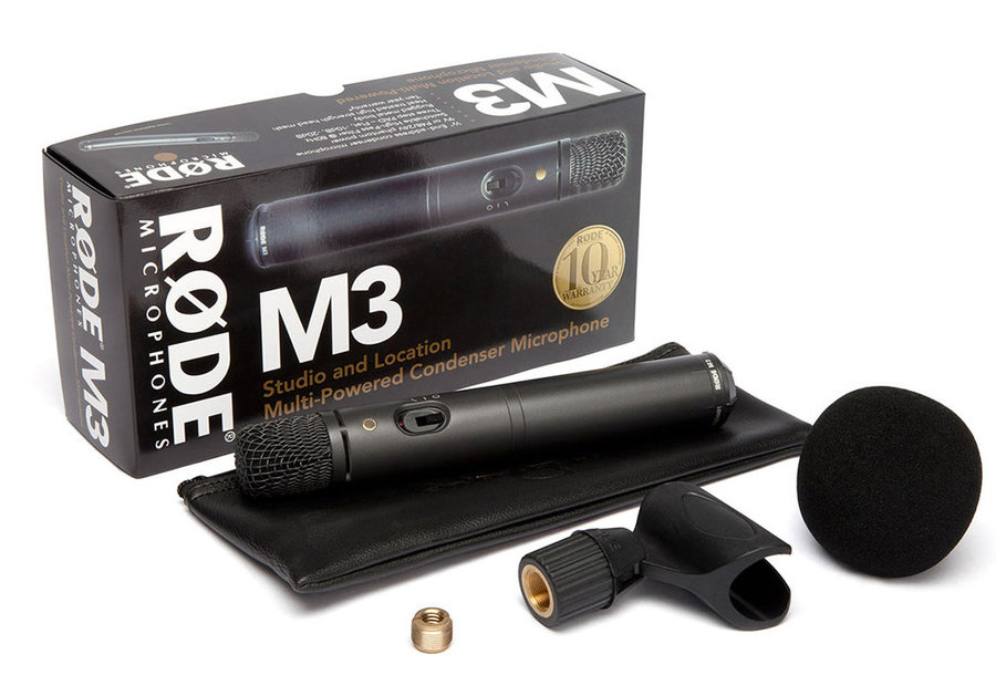 View larger image of Rode M3 Versatile End-Address Condenser Microphone