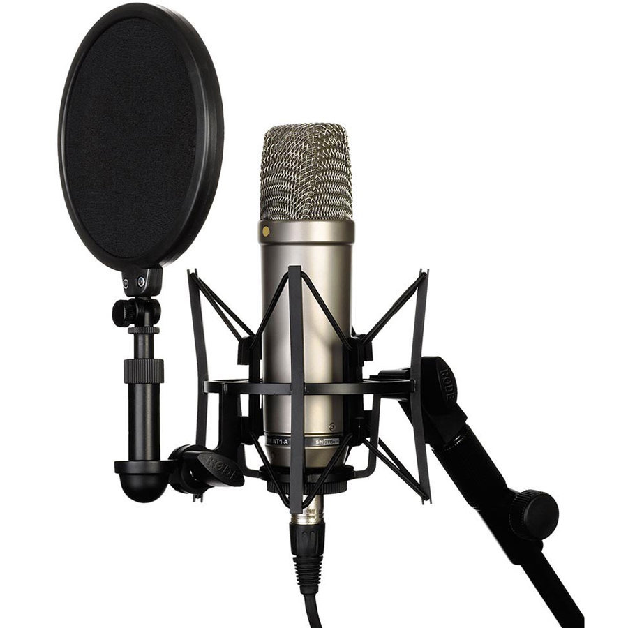 View larger image of Rode NT1-A Microphone Studio Package