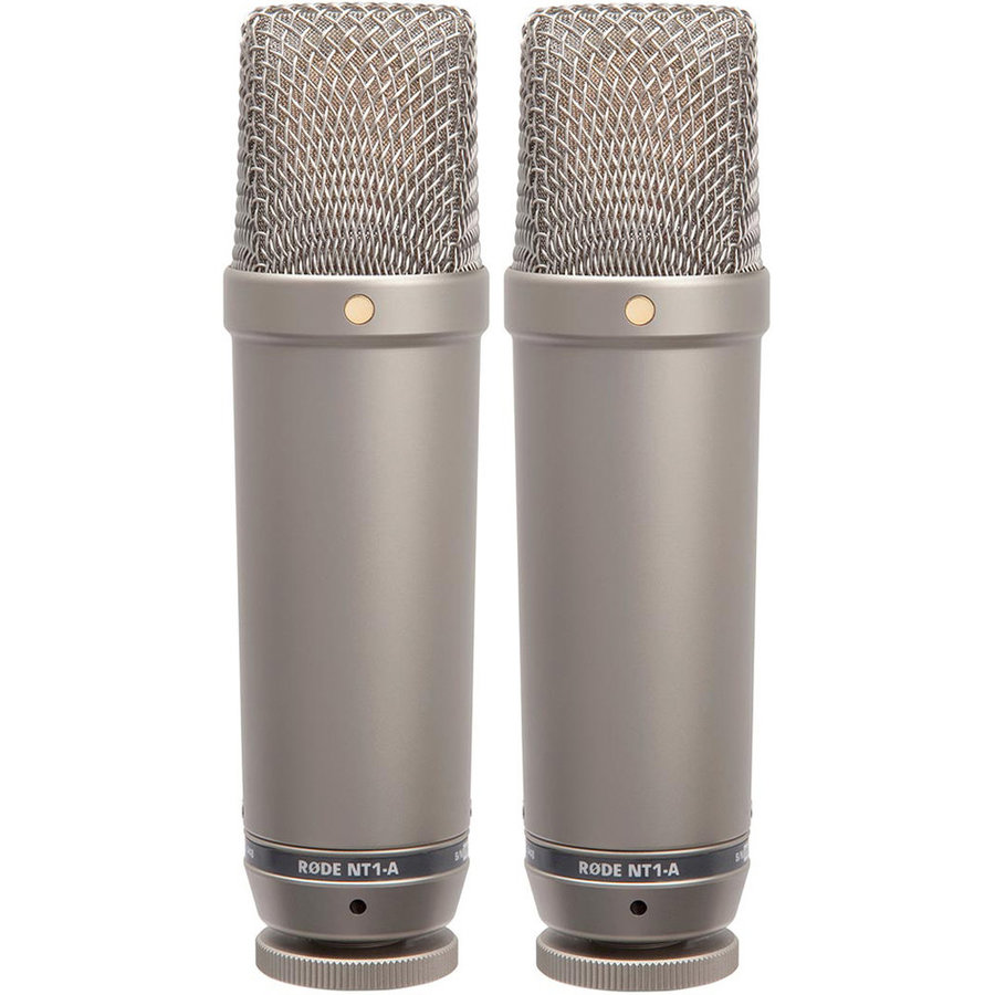 View larger image of Rode NT1-A-MP Matched Pair Cardioid Condenser Microphones