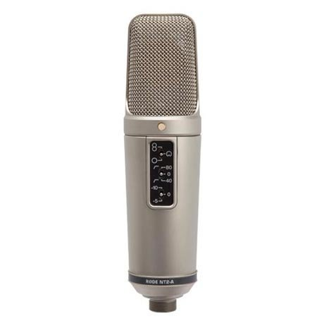 View larger image of Rode NT2-A Multi-Pattern Dual 1 Condenser Microphone