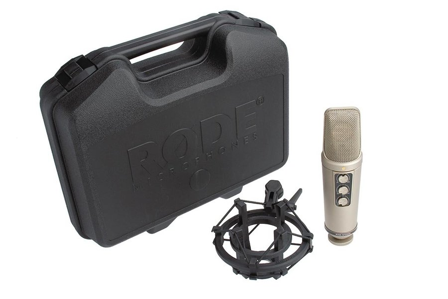 View larger image of Rode NT2000 Seamlessly Variable Dual 1 Condenser Microphone