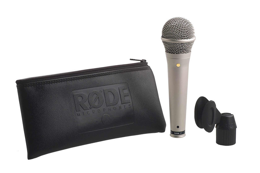 View larger image of Rode S1 Live Condenser Vocal Microphone - Satin Nickel
