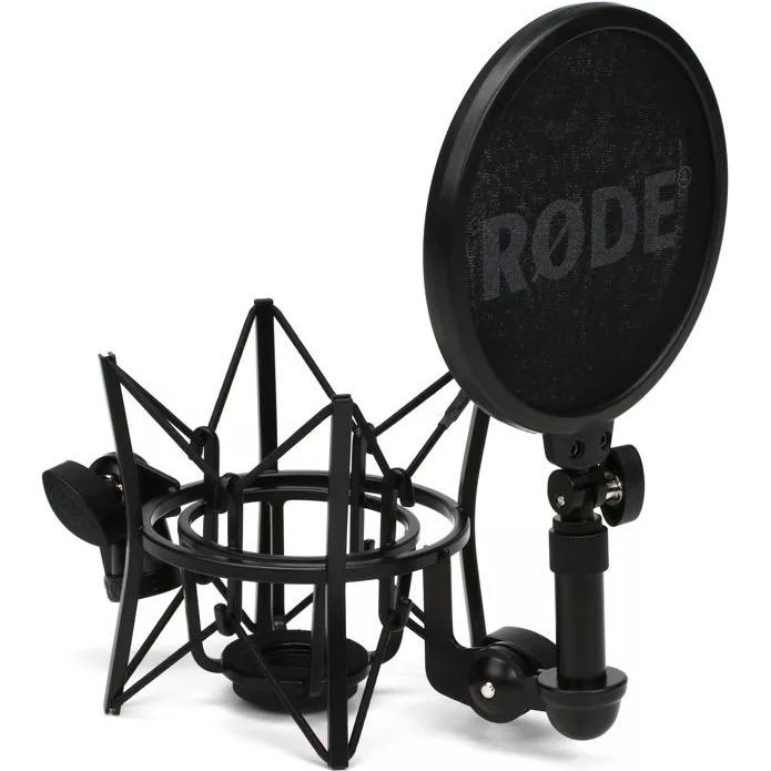 View larger image of Rode SM6 Shock Mount with Integrated Pop Shield