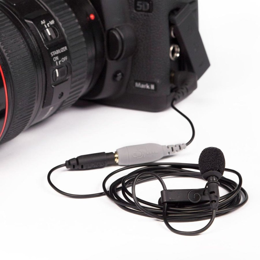 View larger image of Rode SmartLav+ Lavalier Microphone for Smartphone