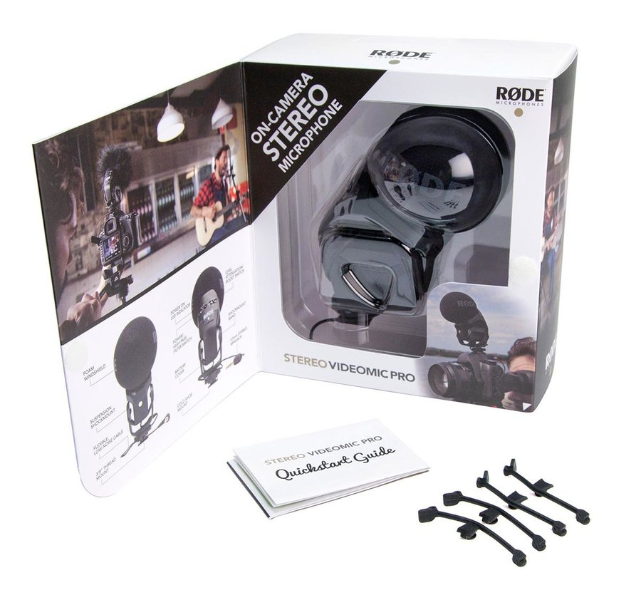 View larger image of Rode Stereo VideoMic Pro Stereo On-Camera Microphone