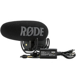 Rode VideoMic Pro Plus On Camera Microphone