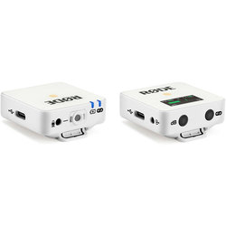 Rode Wireless GO Compact Microphone System - White