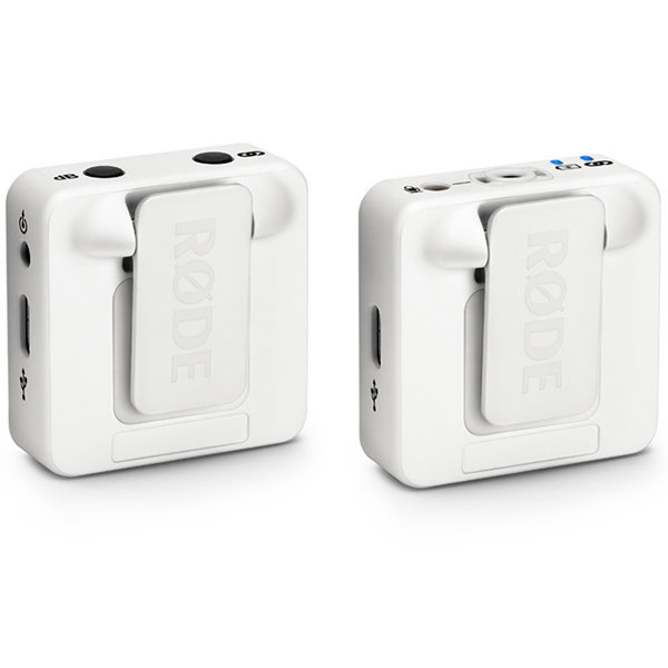 View larger image of Rode Wireless GO Compact Microphone System - White