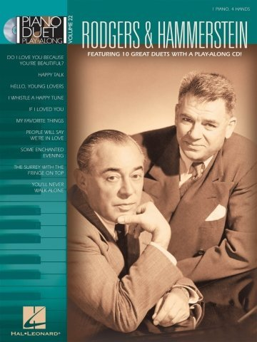 View larger image of Rodgers & Hammerstein -  Piano Duet Play Along Vol.22 w/CD