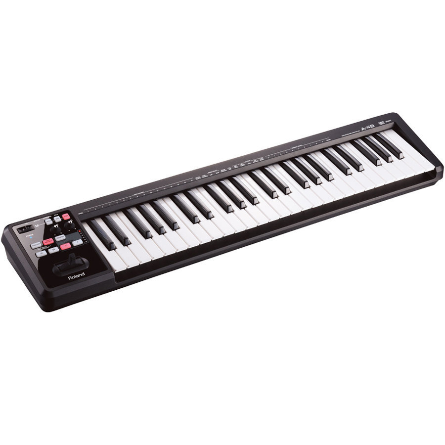 View larger image of Roland A-49 MIDI Keyboard Controller - Black