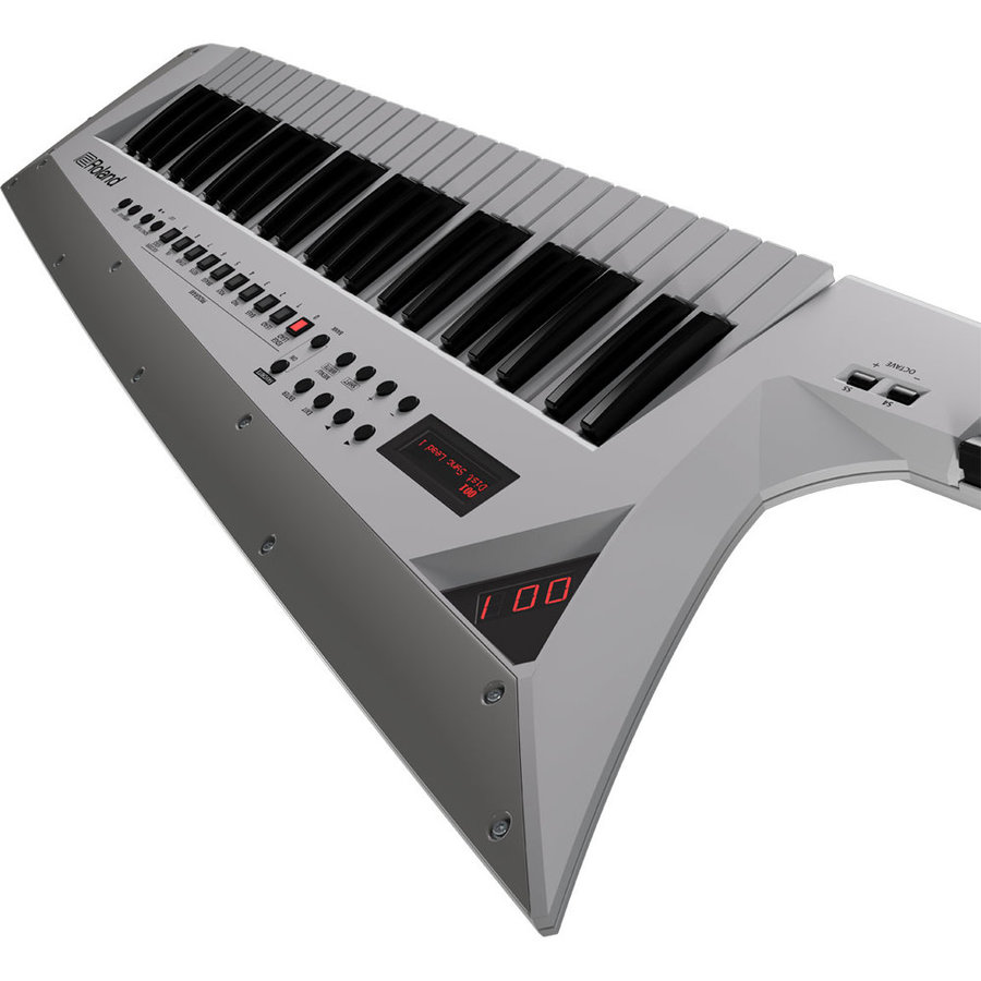 View larger image of Roland AX-Edge Keytar, White