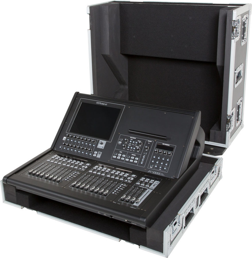View larger image of Roland Black Series Road Case for the M-5000C Live Mixing Console