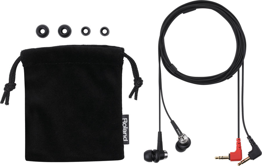 View larger image of Roland CS-10EM Binaural Microphones/Earphones