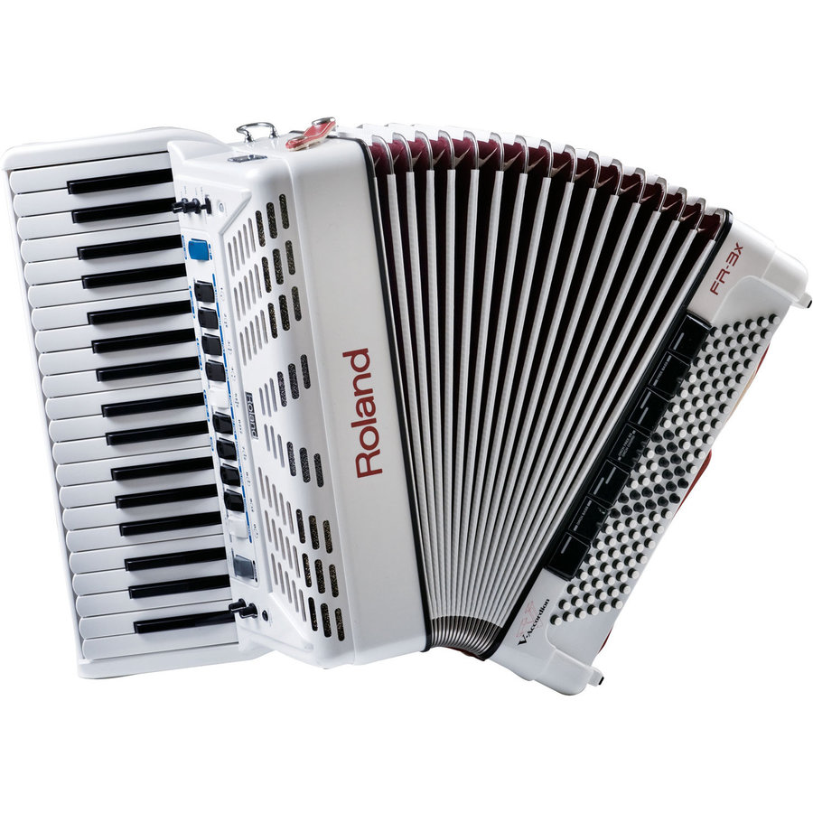 View larger image of Roland FR-3x V-Accordion - White